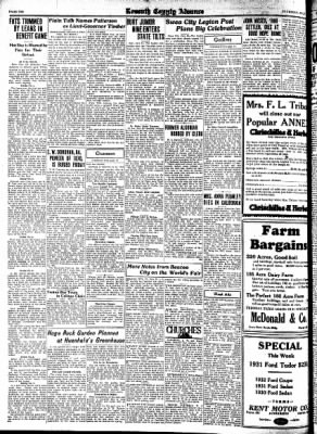 Kossuth County Advance from Algona, Iowa on July 27, 1933 · Page 10