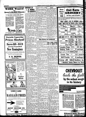 Kossuth County Advance from Algona, Iowa on August 10, 1933 · Page 4