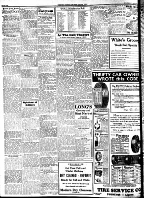 Kossuth County Advance from Algona, Iowa on August 10, 1933 · Page 6