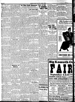 Kossuth County Advance from Algona, Iowa on August 24, 1933 · Page 6