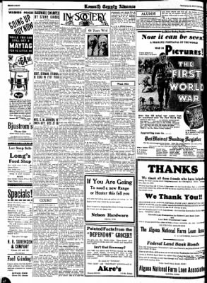 Kossuth County Advance from Algona, Iowa on September 21, 1933 · Page 8