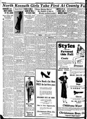 Kossuth County Advance from Algona, Iowa on September 21, 1933 · Page 10