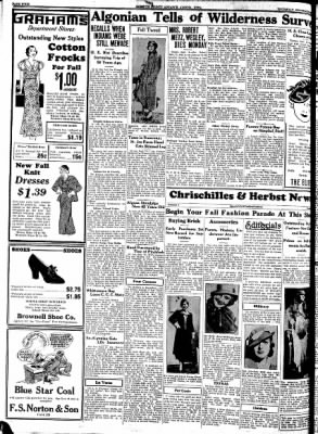 Kossuth County Advance from Algona, Iowa on September 21, 1933 · Page 12
