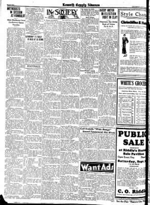 Kossuth County Advance from Algona, Iowa on September 28, 1933 · Page 10