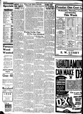 Kossuth County Advance from Algona, Iowa on October 12, 1933 · Page 2