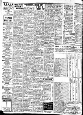 Kossuth County Advance from Algona, Iowa on October 12, 1933 · Page 8