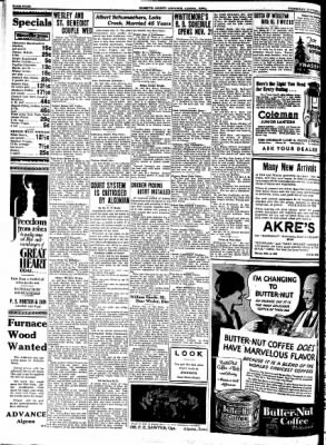 Kossuth County Advance from Algona, Iowa on October 19, 1933 · Page 4
