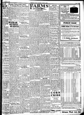Kossuth County Advance from Algona, Iowa on October 19, 1933 · Page 9