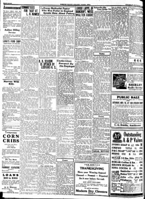 Kossuth County Advance from Algona, Iowa on November 16, 1933 · Page 8