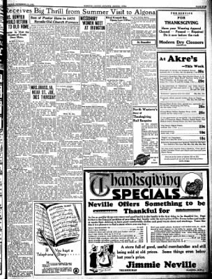 Kossuth County Advance from Algona, Iowa on November 23, 1933 · Page 5