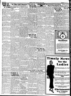 Kossuth County Advance from Algona, Iowa on December 7, 1933 · Page 4