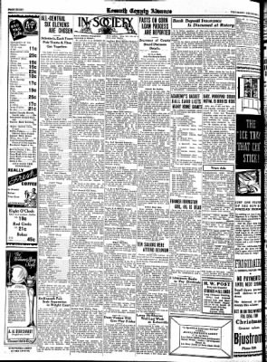 Kossuth County Advance from Algona, Iowa on December 7, 1933 · Page 8