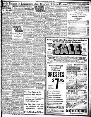 Kossuth County Advance from Algona, Iowa on January 4, 1934 · Page 3