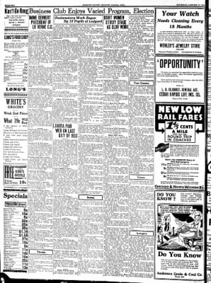 Kossuth County Advance from Algona, Iowa on January 11, 1934 · Page 2