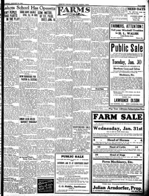 Kossuth County Advance from Algona, Iowa on January 25, 1934 · Page 9