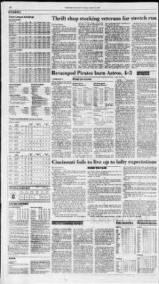 Pittsburgh Post-Gazette from Pittsburgh, Pennsylvania on August 29, 1988 · Page 22