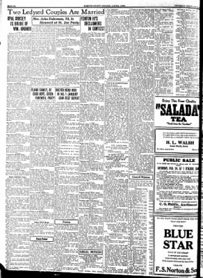Kossuth County Advance from Algona, Iowa on February 22, 1934 · Page 6