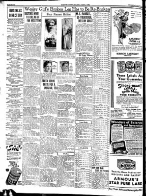 Kossuth County Advance from Algona, Iowa on March 8, 1934 · Page 4