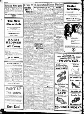 Kossuth County Advance from Algona, Iowa on March 22, 1934 · Page 2