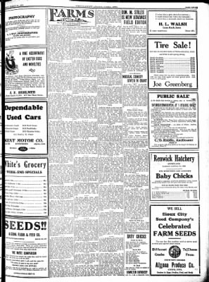Kossuth County Advance from Algona, Iowa on March 22, 1934 · Page 7