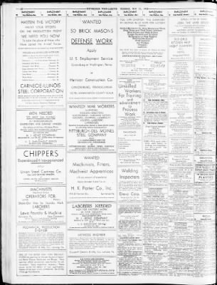 pittsburgh post gazette from pittsburgh pennsylvania on may 11 Diamond T Hauler pittsburgh post gazette from pittsburgh pennsylvania on may 11 1943 page 22