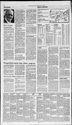 Pittsburgh Post-Gazette from Pittsburgh, Pennsylvania on September 14, 1987 · Page 32