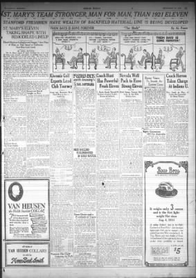 Oakland Tribune from Oakland, California on September 27, 1922 · Page 15