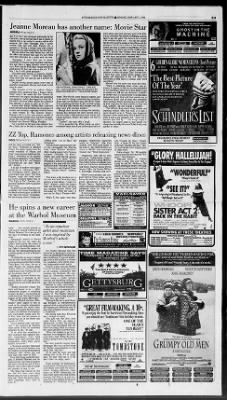 Pittsburgh Post-Gazette from Pittsburgh, Pennsylvania on January 2, 1994 · Page 58