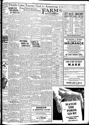 Kossuth County Advance from Algona, Iowa on May 10, 1934 · Page 9