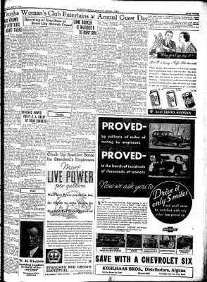Kossuth County Advance from Algona, Iowa on May 17, 1934 · Page 3