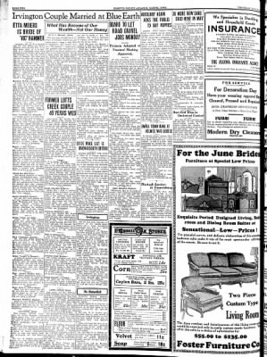 Kossuth County Advance from Algona, Iowa on May 24, 1934 · Page 2