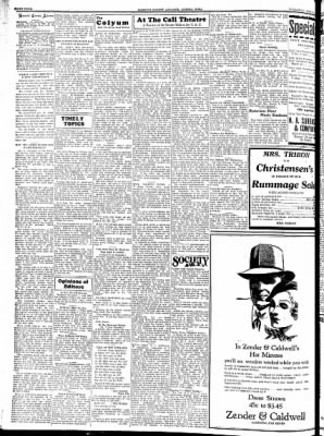 Kossuth County Advance from Algona, Iowa on May 24, 1934 · Page 4
