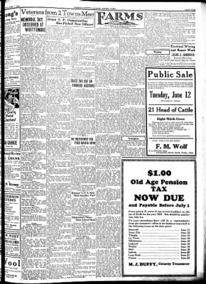 Kossuth County Advance from Algona, Iowa on June 7, 1934 · Page 9