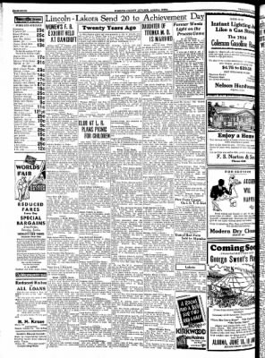 Kossuth County Advance from Algona, Iowa on June 14, 1934 · Page 4