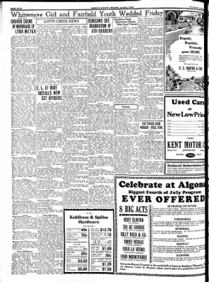 Kossuth County Advance from Algona, Iowa on June 21, 1934 · Page 4