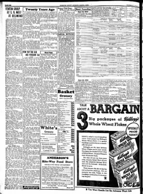 Kossuth County Advance from Algona, Iowa on June 28, 1934 · Page 6