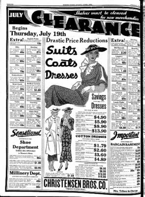 Kossuth County Advance from Algona, Iowa on July 19, 1934 · Page 6