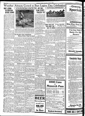 Kossuth County Advance from Algona, Iowa on August 2, 1934 · Page 2