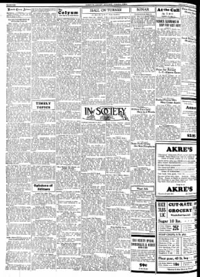Kossuth County Advance from Algona, Iowa on August 2, 1934 · Page 6