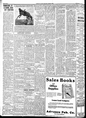 Kossuth County Advance from Algona, Iowa on August 2, 1934 · Page 8