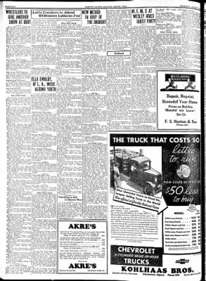 Kossuth County Advance from Algona, Iowa on August 9, 1934 · Page 2