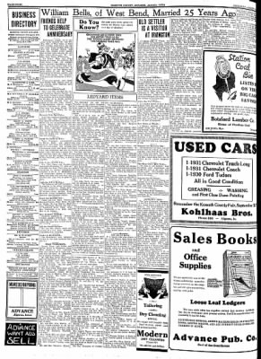 Kossuth County Advance from Algona, Iowa on August 16, 1934 · Page 4