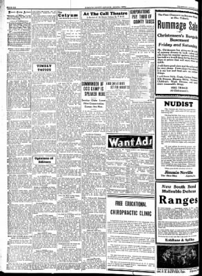 Kossuth County Advance from Algona, Iowa on August 16, 1934 · Page 6