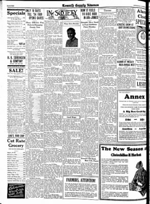 Kossuth County Advance from Algona, Iowa on August 16, 1934 · Page 10