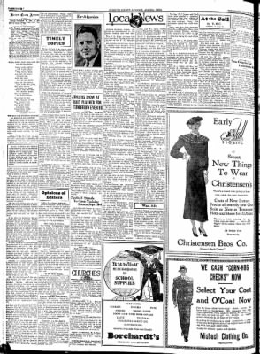 Kossuth County Advance from Algona, Iowa on August 30, 1934 · Page 4