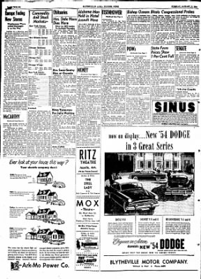 The Courier News from Blytheville, Arkansas on January 5, 1954 · Page 12
