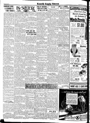 Kossuth County Advance from Algona, Iowa on September 6, 1934 · Page 20