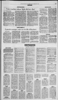 Pittsburgh Post-Gazette from Pittsburgh, Pennsylvania on February 15, 1996 · Page 57