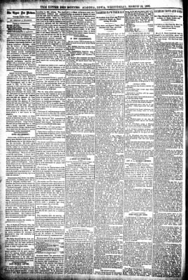 The Algona Upper Des Moines from Algona, Iowa on March 18, 1896 · Page 4