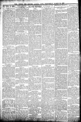The Algona Upper Des Moines from Algona, Iowa on March 25, 1896 · Page 2